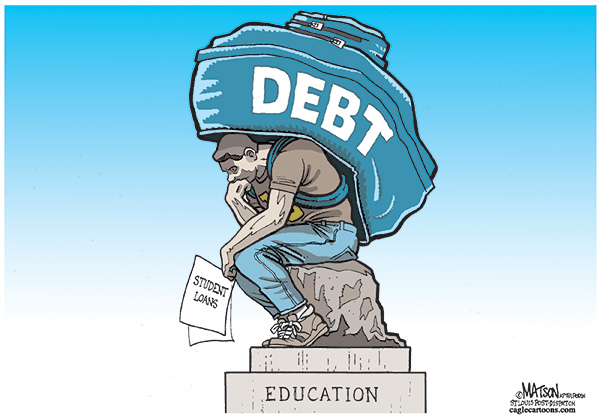 the sinker - student loan debt and the average student ABTU